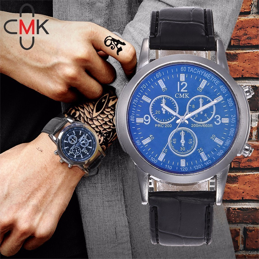 цена на CMK Men Watches 2018 Top Brand Luxury Famous Quartz Watch Mens Clock Male Wrist Watch For Men Quartz-watch Relogio Masculino