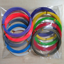 Popula ABS 3D Print Filament 1.75mm10M*12pcs Different Colors For 3D Printer or Pen total 120M gift for kids 1china
