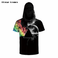 PLstar Cosmos Brand Clothing Hipster Hoodies T Shirt Men Women T Shirt Abstract Prism All Over