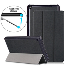 Cover for Fire 7 2019 Case Magnetic PU Lether Folding Stand  Cover for Amazon Fire 7 Case Kindle Fire 7 Tablet Case