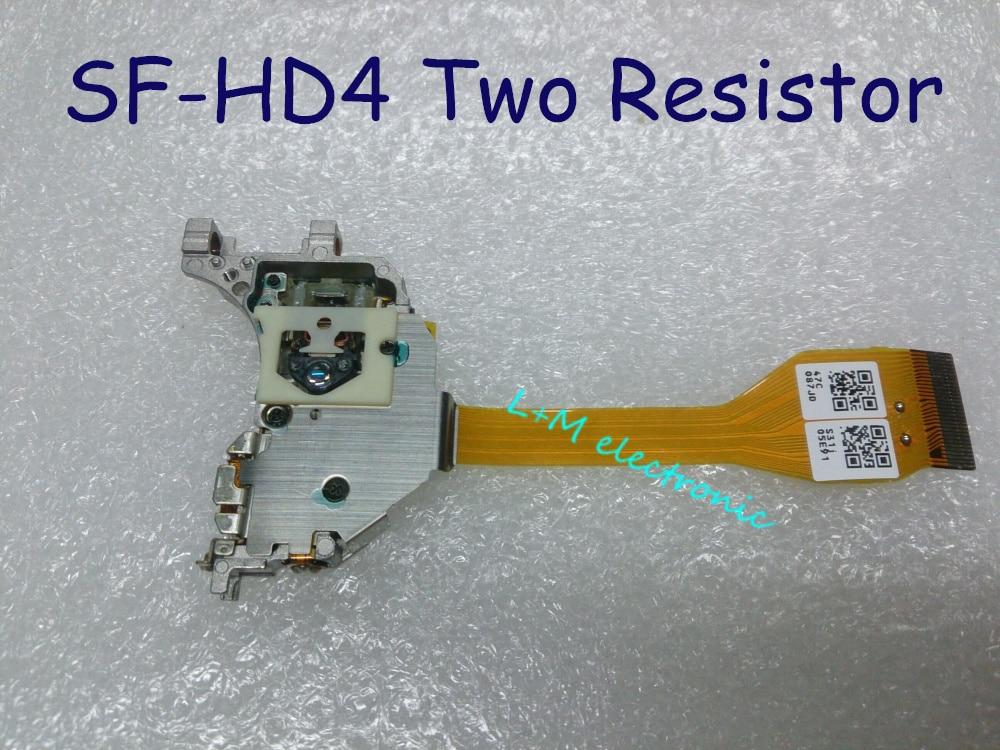 ახალი SF-HD4 თეთრი ყდა ორი რეზისტორის DVD ლაზერისთვის Mercedes Navigation SAAB DVD-M2 DVD-M3 DVD-4.6 DVD-4.8