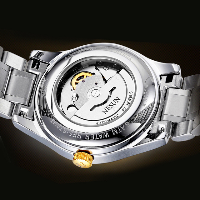 Swiss Made NESUN Luxury Watch Automatic Self-winding 5