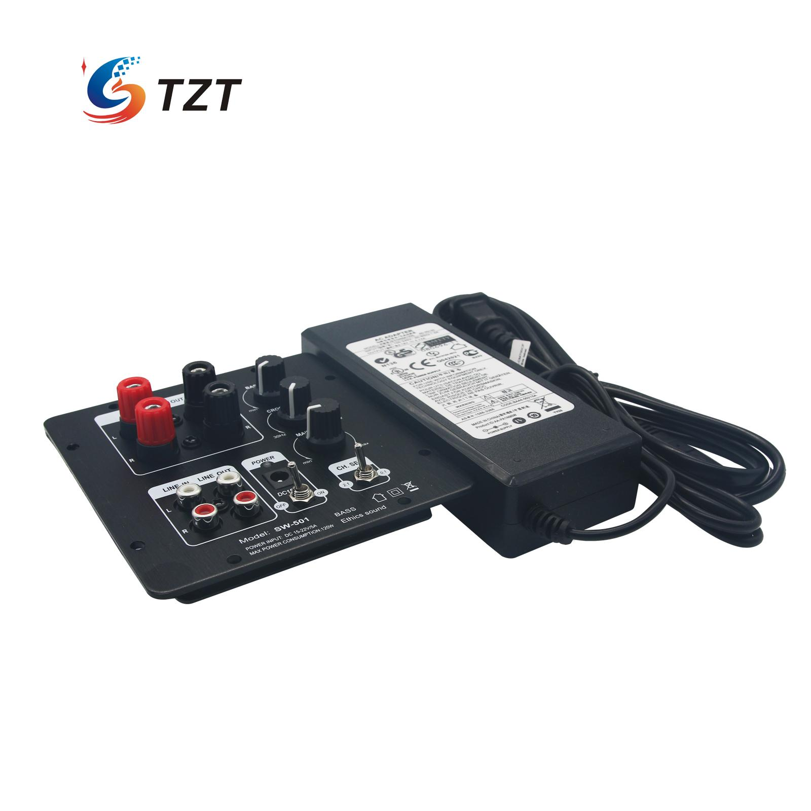 TPA3118 Digital Audio Power Amplifier Board 60W+30Wx2 HIFI Subwoofer Amp with Power Supply music hall mini stereo digital power amplifier hifi 2 0 audio amp 50w 50w treble bass black with 24v power supply