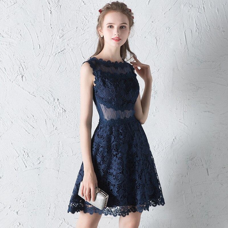 Frank Bankett Abendkleider 2019 Neue Koreanische Prinzessin Student Kleider Prom Party Kleider Illusion Zurück Sleevelesss Haute Couture Verbraucher Zuerst Weddings & Events
