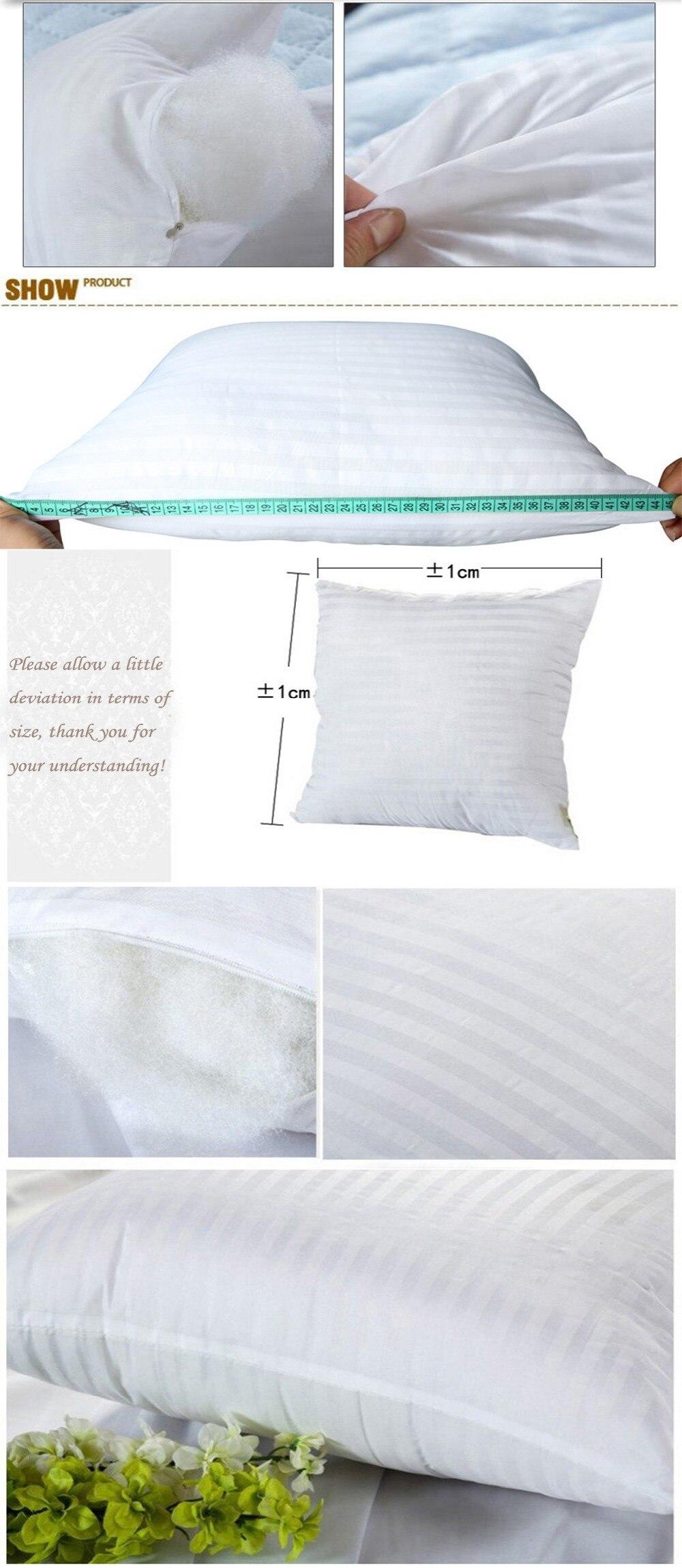 HTB1aNL6cXGWBuNjy0Fbq6z4sXXaY Meijuner Square White Cushion Pillow interior Insert Soft PP Cotton for Home Decor Sofa Chair Throw Pillow Core Seat Cushion