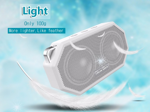 Portable Mini Wireless Bluetooth Speakers Waterproof subwoof Shower Outdoor Built-in Microphone Speaker Hands-free for Phone PC