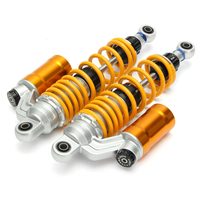 1 Set Yellow 320mm Motorcycle Air Shock Absorbers For Honda TRX250R 450R 400ER Quad/ATV/RFY