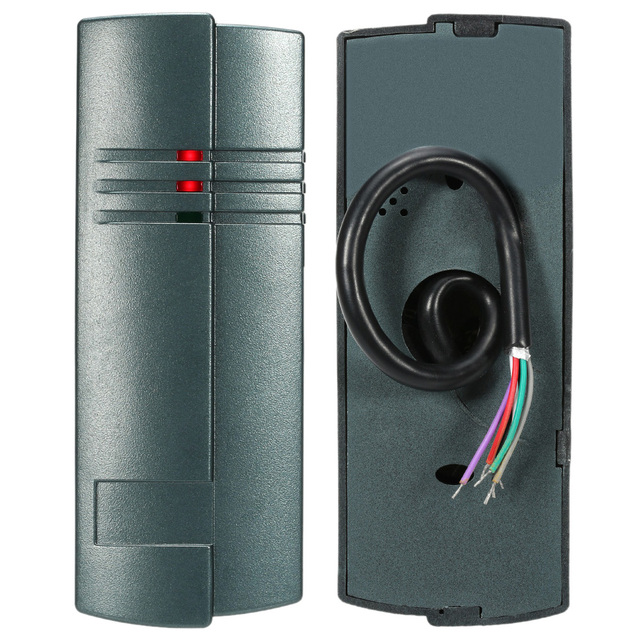 RFID Reader 125KHz Proximity Smart IC Card Reader Wiegand26/34 for Door Entry Access Control System