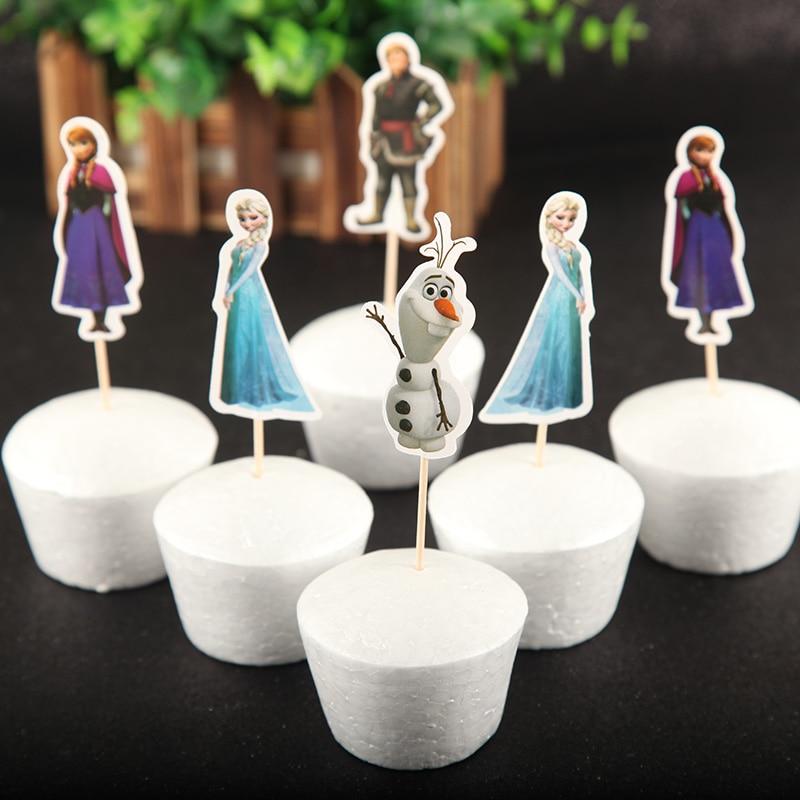 1 Moana Movie Decoset Cake Topper Party Decor 2 Pc Set Figurine Photo Frame