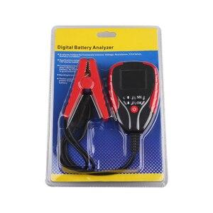 Image 2 - 12V Automotive Load Battery Tester Digital Analyzer of Battery Life Percentage Voltage Resistance and AH CCA Value