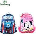Boys School Bags Captain America Ironman Super Hero Children Backpack for Girls Minnie Mouse School Backpack Satchel for Kids