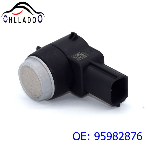 2PCS HLLADO Ultrasonic Sensor 95982876 0263013181 PDC Parking Sensor Car Reversing Radar For B uick C adillac G M C(China)