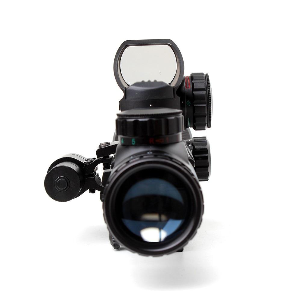 Tático Ohhunt 4-12X50 Iluminado Rangefinder Reticle Holographic