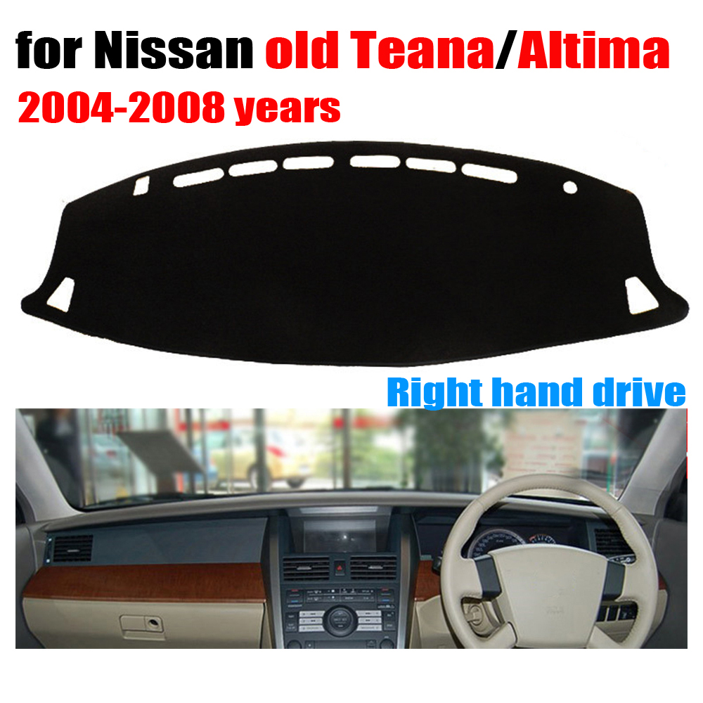 free shipping!!! Car dashboard cover mat for Nissan Old TEANA Altima 2004 to 2008 Right hand drive