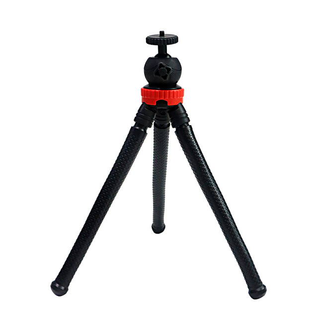 miliboo MZ02  Mini Travel Octopus Tripod Lightweight Tripod Stand with Max Load up to 2.5 kg/5.5lbs for DSLR Camera / Iphone