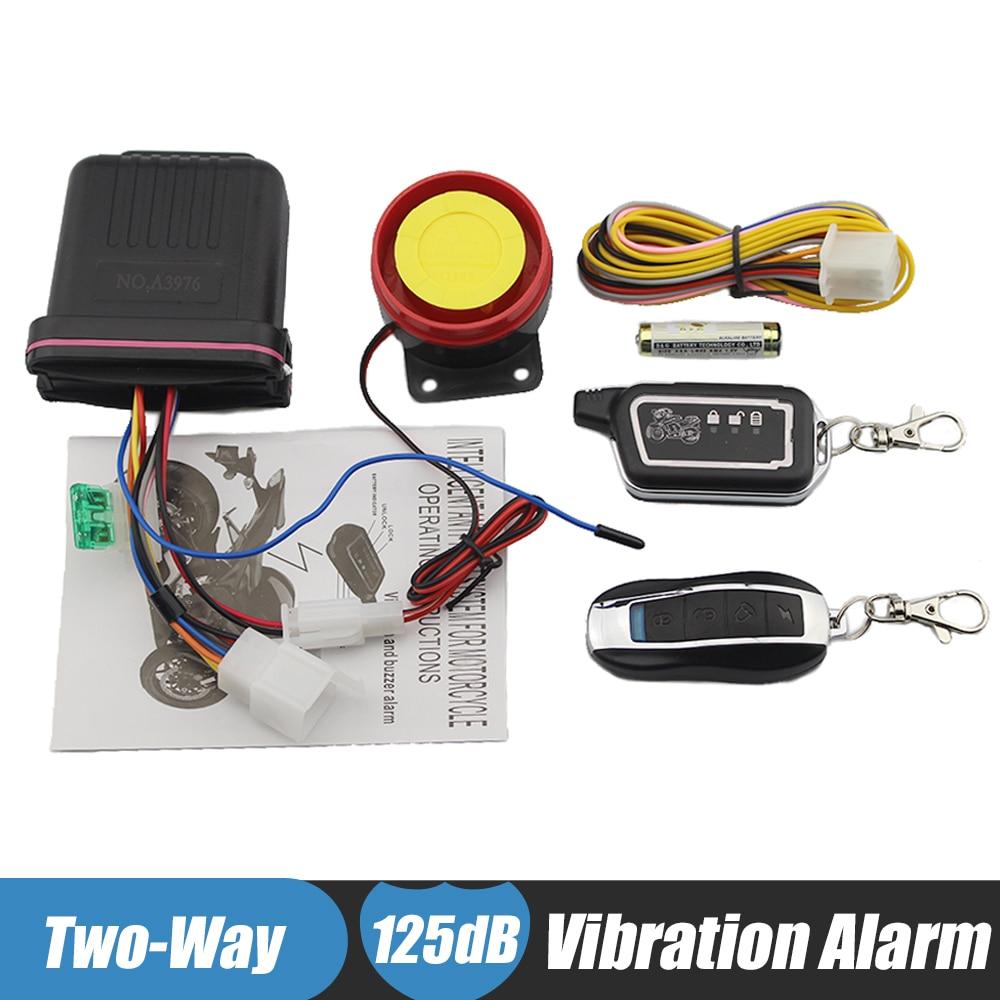 alarme two way moto
