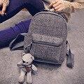2016 Novo Design de Alta Qualidade De Pano De Lã Marca Mochilas para Adolescentes Meninas Mulheres Mochila Mochila Saco de Viagem Mochila Feminina
