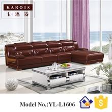 Modern Customized Hotel Lobby Furniture Design L Shape Leather Sofa  Set,fotel Wypoczynkowy