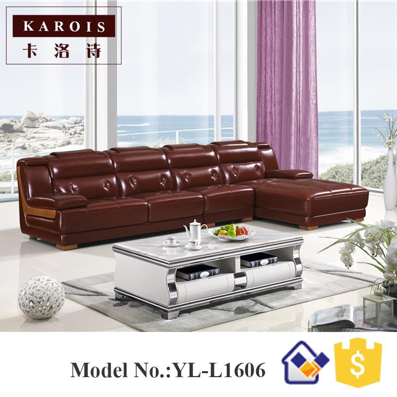 moderno vestbulo del hotel muebles de diseo en forma de l sof de cuero set fotel
