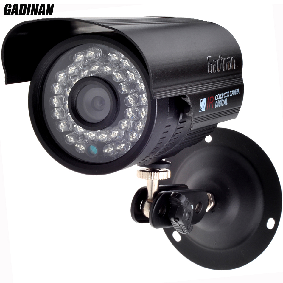 ФОТО Gadinan H.265 HEVC 2MP 1080P HI3516D +1/2.7'' AR0237 48V PoE ONVIF Outdoor Night Vision Surveillance IP Cam Waterproof PoE Cable
