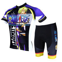 Anime One Piece Vinsmoke Sanji Cycling Jersey Men Cycling Equipment Cycling Sets X076