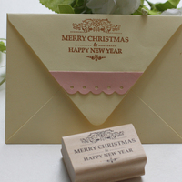 Merry Christmas Stamps 6 4cm Tinta Sellos Craft Wooden Rubber Stamps For Scrapbooking Carimbo Timbri Stempel