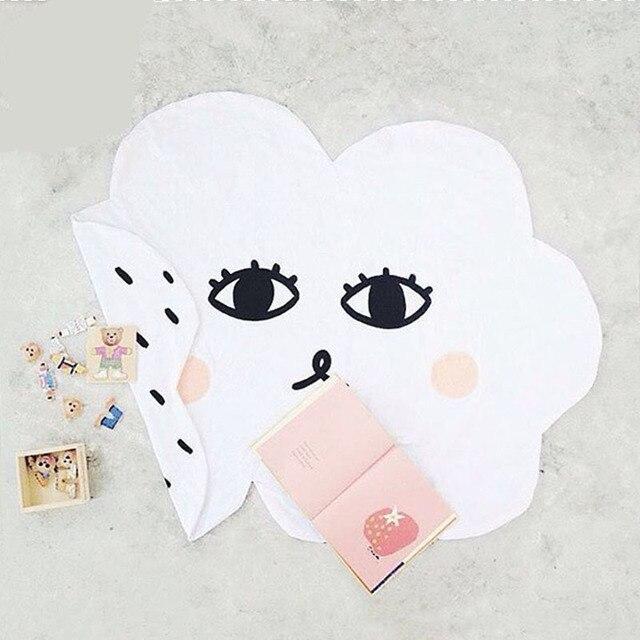 Wolken Decke Lächeln Gesicht Teppich Gamepad Baby Crawl Kissen ...