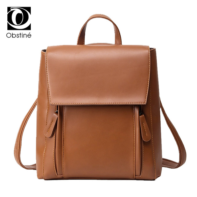 883f9673106 Brown Female Backpack for Teens Popular Student College Bag School Bagpack  Women Backpacks for Girls Teenagers Woman Back Pack