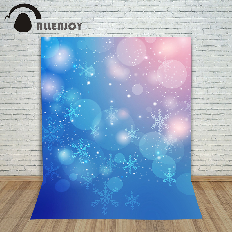 Christmas backgrounds for photography Abstract blue winter bokeh new year Background vinyl cloth year of the rooster christmas photographic background snow snow in winter new year photo vinyl cloth year of the rooster