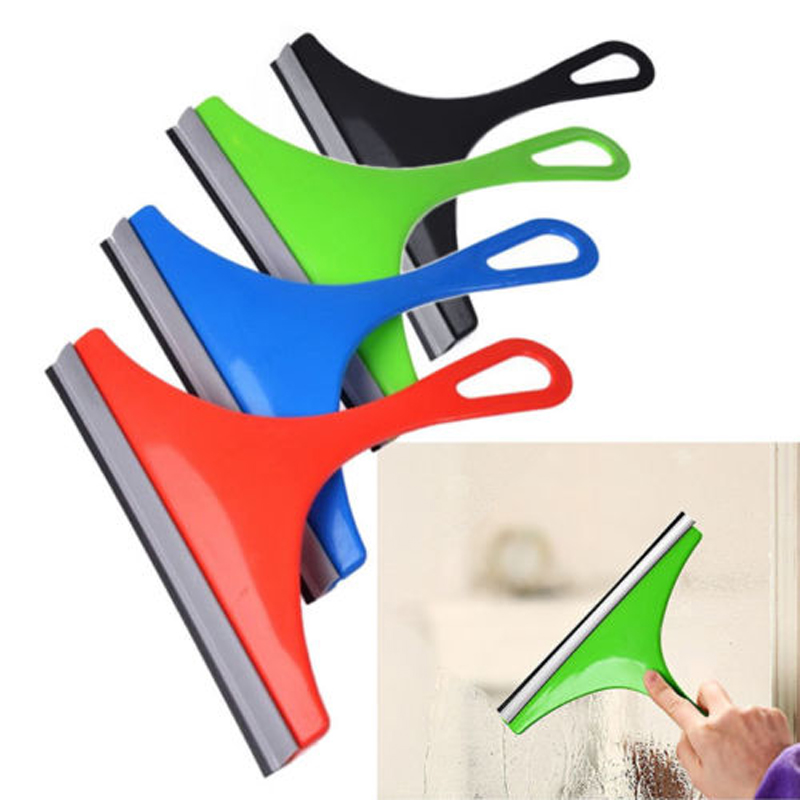 Hot Glass Window Wiper Soap Cleaner Squeegee Home Shower Bathroom Mirror  Car Blade(China (