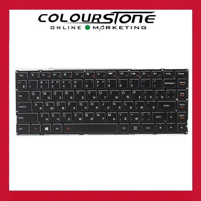 Original Russian Laptop keyboard For lenovo Yoga2 pro 13 yoga 2 pro 13 with Black  backlit keyboard Russia QWERTY keyboard