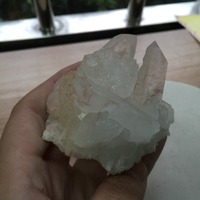 BG639 --- 178g 60*60*45mm Doğal Şifa Noktaları Kuvars Kristal Küme Numune Kristal de cuarzo Noel için hediye