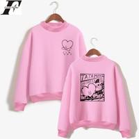LUCKYFRIDAYF BTS Love Yourself Kpop Women Hoodies Sweatshirts Outwear Hip Hop Bangtan Hoodies Sweatshirts Fashion Female