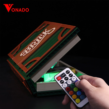 Led Light Set For Lego 21315 IDEAS series Brick Magic Folding Stereo Book Building Blocks Creator Toys Gifts (Only lights)