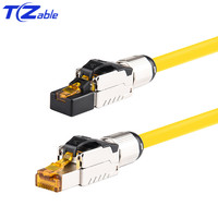 40 5gbps 2000MHz Cabo de Rede Ethernet Conector Do Cabo De Rede de Friso RJ45 Cat8 RJ45 Blindados Cabos de Fibra Óptica Patch Cord