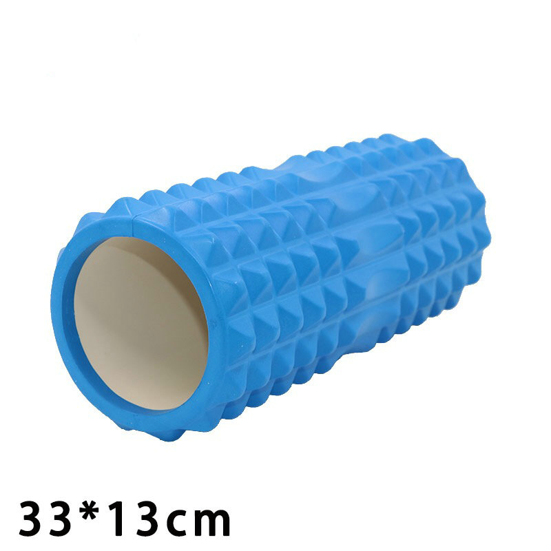 high quality yoga pillar Mace sticks foam shafts keep the massage sticks shaft sticks sports fascia muscles to relax foam rolls цены