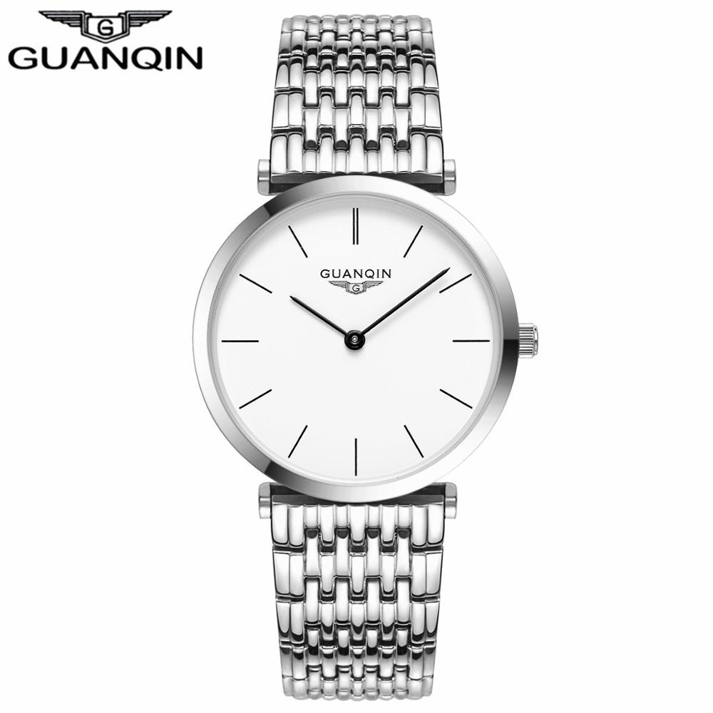 GUANQIN Women Watches 2017 Luxury Top Brand Watch Women Casual Fashion Gold Silver Steel Quartz Girl Watches relogio feminino (7)