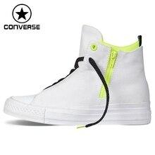 Original New Arrival 2016 Converse Selene Shield Canvas  Unisex  High top Skateboarding Shoes Canvas  Sneakers