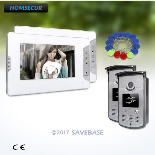 HOMSECUR 7inch Wired Video Door Entry Security Intercom with Mute Mode for Home SecurityHOMSECUR 7inch Wired Video Door Entry Security Intercom with Mute Mode for Home Security