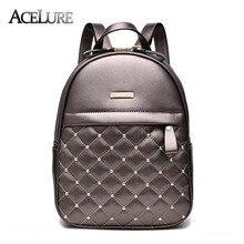 Nouveau style femmes sacs à dos 2017 occasionnel femelle sacs de voyage sacs d'école pour les adolescents filles noir dames sacs à bandoulière sac à dos