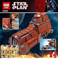 New Star War The Federation Transportation Tank MTT 1338pcs Lepin 05069 Building Blocks Bricks Toys Model Compatible 7662