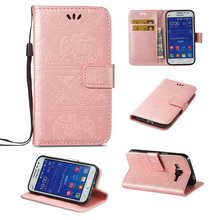 Luxury Flip PU Leather Wallet phone Cases cover For Samsung Galaxy Core Prime G360 G3606 G3608 G361F 4.5 inch card holder