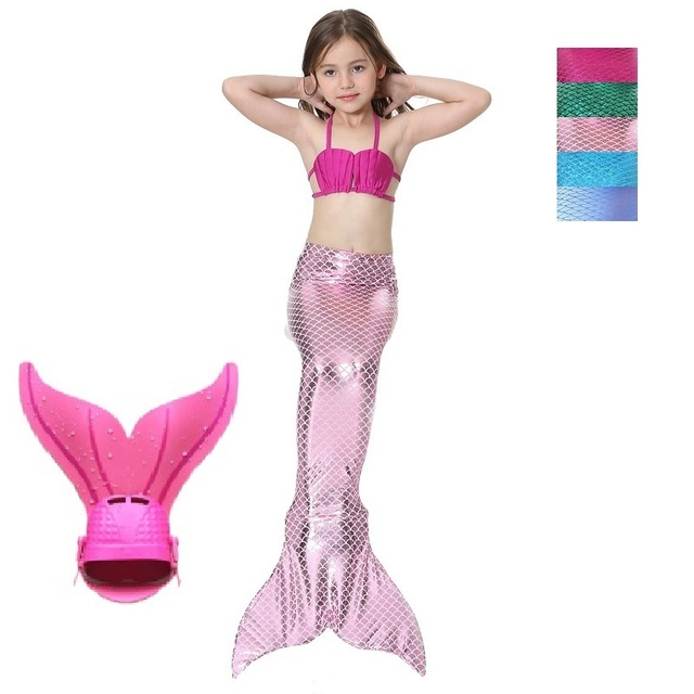 child mermaid costume halloween tail mermaid children girl bikini kids spandex fins monofin children swimsuit swimmable  sc 1 st  AliExpress.com & child mermaid costume halloween tail mermaid children girl bikini ...