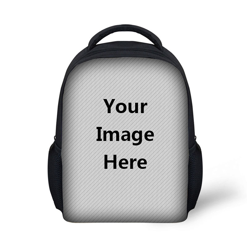 HUE MASTER Trendy Student Backpack Casual Travel Backpack Customizable School Bag Custom Pattern DIY Accept Print Your Name