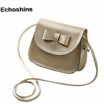 2017 Full of personality unique Fashion Women Bowknot Leather Handbag Single Shoulder Messenger Bag wholesale A25 Чокер