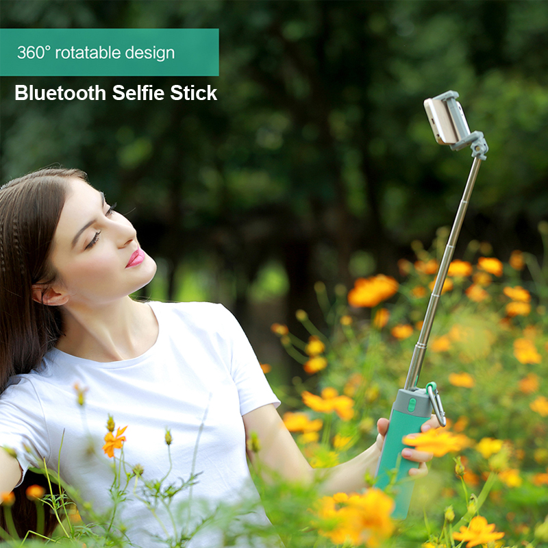 2pcs/lot Wireless Bluetooth Speaker,Selfie Stick/Phone Holder Stand / Power Bank / Portable Speaker / TF Card playing 5 in 1 цена