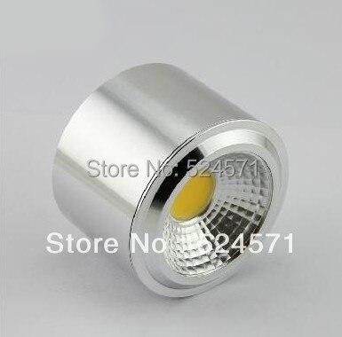 Бесплатная доставка затемнения 7 Вт 12 Вт 15 Вт COB светильник лампа утоплена Ванная комната лампы 85 ~ 265 В CE RoHS Гарантия 2 года
