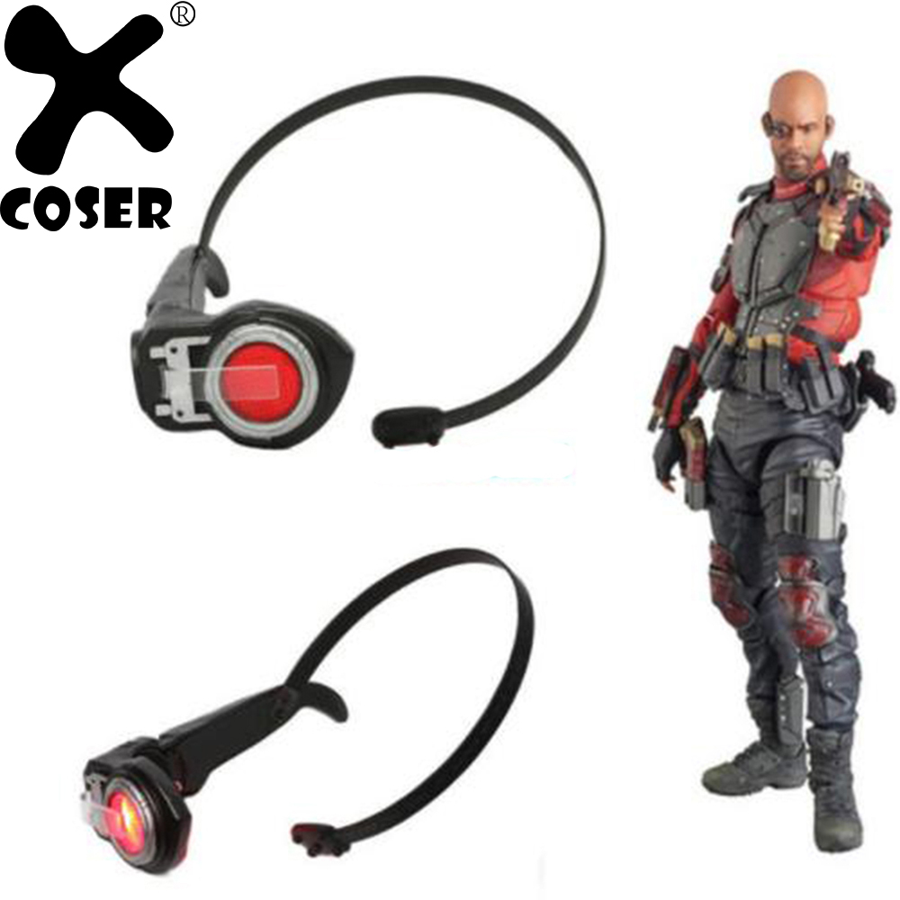 great prices new style reasonable price XCOSER Deadshot Électronique Eye Patch Film Commando Suicide ...