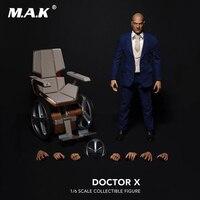 Коллекционные полный набор фигурку X men 1/6 профессор X Чарльз Xavier доктор х фигурку для сбора болельщиков подарок