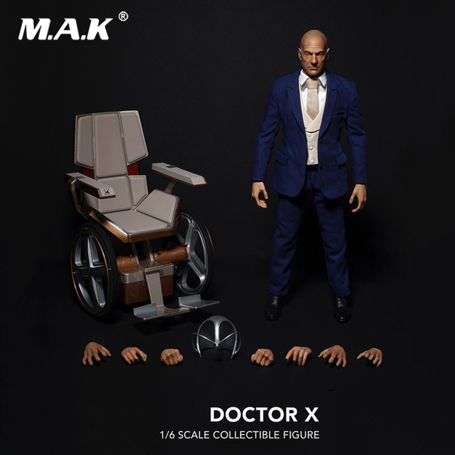 Collectible Full Set Action Figure X-men 1/6 Professor X Charles Xavier Doctor X Action Figure for Fans Collection Gift